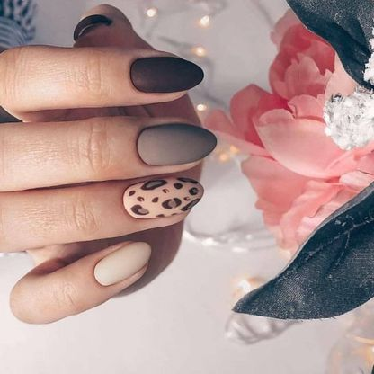 Rounded shaped nail extensions