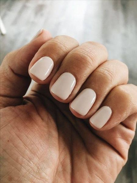 Square nail extension